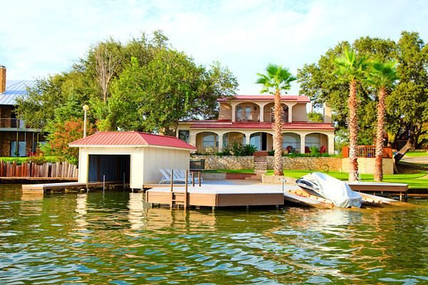 my waterfront home on Lake LBJ
