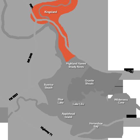 Kingsland Area