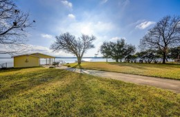 Grandpa's Old Fishing Cabin on Lake LBJ – Prime Waterfront